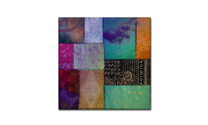 Groupon Goods: Color Bakery 'Afrikan Batik I' Canvas Art
