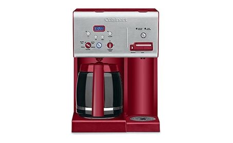 Cuisinart CHW-12R 12-Cup Programmable Coffeemaker, Red (Refurbished) db735b89-7c06-4b68-b4cf-8c09bd182bb9