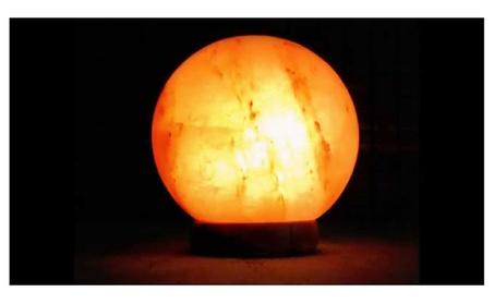 Globe Himalayan Salt Lamp dffcf0aa-c6c1-4437-8ae0-166c13c08fa7