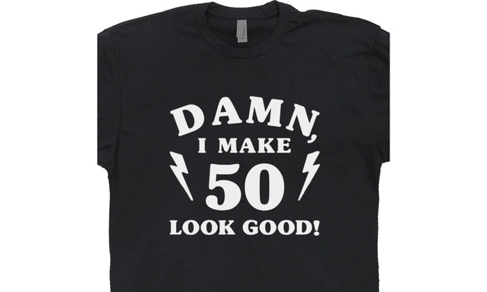 4c1cd515a 1969 50th Birthday T Shirt Damn I Make 50 Look Good Tee Funny Vintage  Novelty
