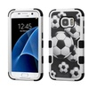 Insten For Samsung Galaxy S7 Soccer Ball Collage Tuff Hard Hybrid Case