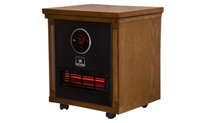 Smithfield 1,500-Watt Infrared Quartz Portable Heater w/ Digital Display