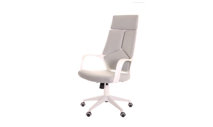 Modern Ergonomic Office Chair Grey White By Timeoffice
