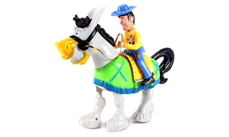 Cowboy Sheriff & Walking Donkey Battery Operated Toy Action Figure Playset 2e2cf5a7-1055-43f9-99c8-d2fc024d8149