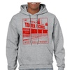 Tower Records West Hollywood Men's Sports Grey Hoodie NEW Sizes S-2XL