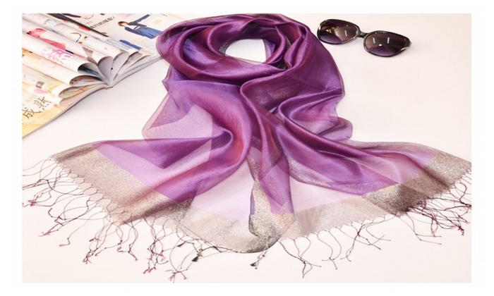 100% Pure Silk Neck scarf