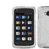 Insten Silver Diamante Case For Samsung I847, Rugby Smart