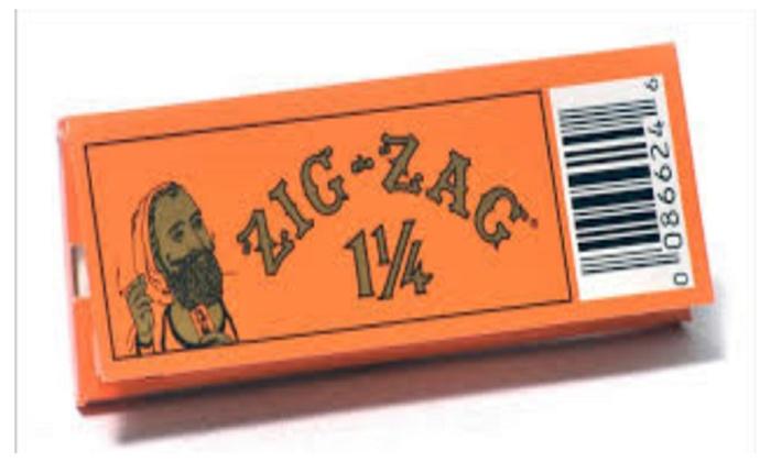 zig zag 1 1 4 rolling papers groupon. Black Bedroom Furniture Sets. Home Design Ideas