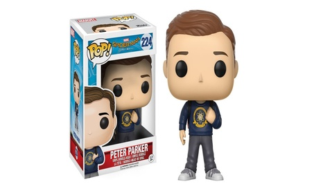 Funko POP Marvel Spider-Man Homecoming Peter Parker Action Figure - bule 7a8a2669-63e1-4d0f-af2d-cc6906047418
