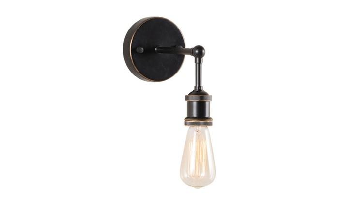 Zuo Home Decorative Miserite Wall Lamp Antique Black Gold & Copper