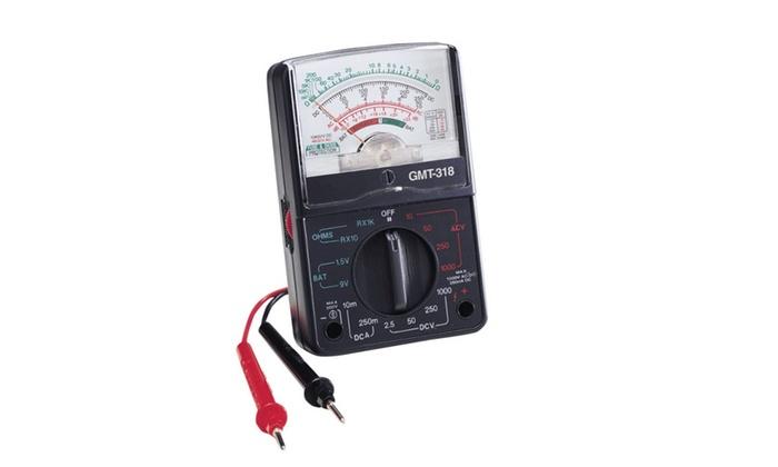 Gardner Bender GMT318 Analog Multi-tester, 500 Volt, 14 Range