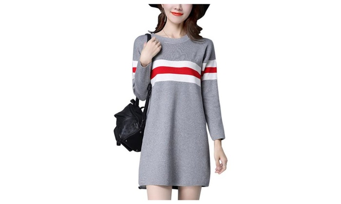 Women's  Long Sleeve Striped Casual Simple Pullovers
