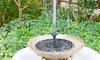 1.5W/7V Mini Solar Panel Powered Fountain Water Pump