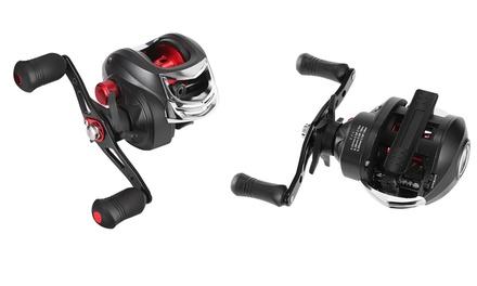 iMounTEK High Speed Long Cast Distance 17.5lbs Max Drag Baitcasting Fishing Reel