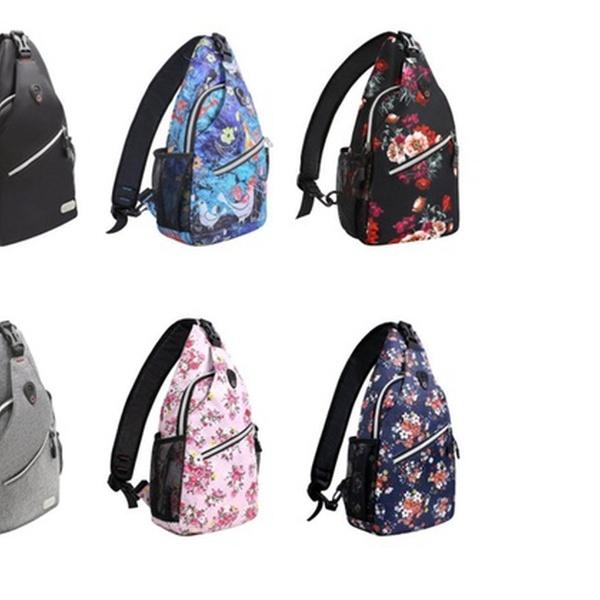 e83342c99074 MOSISO Sling Backpack, Multipurpose Crossbody Shoulder Bag Travel Hiking  Daypack