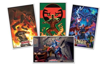 "11""x17"" Greg Hildebrandt Marvel Comic Book Cover Prints 40c8ef68-fbc3-4d1c-99ca-6318a05832a4"