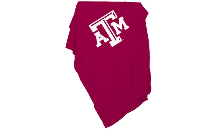 TX A&M Sweatshirt Blanket