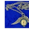 Golden Snitch Necklace Large Gold Color Ball Wings Chain Length Choice