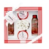 Freida and Joe Candycane- Peppermint 5 pieces gift set in red and white box