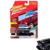 Johnny Lightning JLSP005A 1955 Chevrolet 2 Door Sedan Onyx Classic Gold Limited