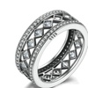 925 Sterling Silver Vintage Fascination Women's Ring