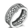 Vintage Fascination 925 Sterling Silver Ring for Women