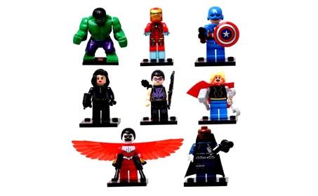8 Piece Super Heroes Marvel Avengers Blocks e57aec28-dfb8-400e-a0c3-656132fbc79f