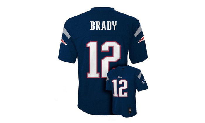 Tom Brady New England Patriots NFL Youth Navy Home Jersey (XL 18-20 ... e07364d46
