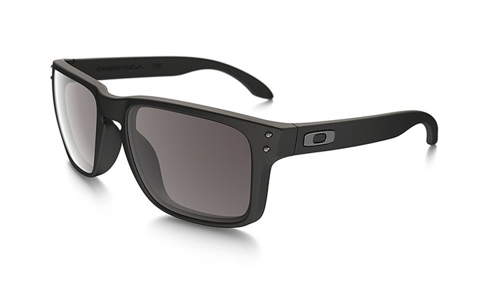 beb1211f01 Oakley Holbrook Sunglasses 57mm Matte Black Frame-Warm Grey Lens ...