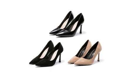 Women Pointed Toe High Heel Slip On Stiletto Pumps Wedding Party Shoes a10e7a60-6f56-4f80-a16e-853a64dc9754
