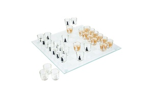 Shot Glass Drinking Game Ches...