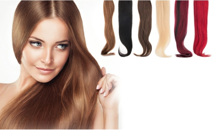 The r beauty remy 22 100 real human hair extensions 7 piece the r beauty remy 22 100 real human hair extensions 7 pmusecretfo Images