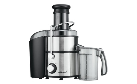 Brentwood JC-500 Appliances Juice Extractor, Silver photo