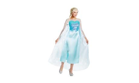 Morris Costume Disguise Inc Halloween Costume Frozen elsa deluxe dc22aba1-1bfa-4ec1-a0c5-742a7a8378d7