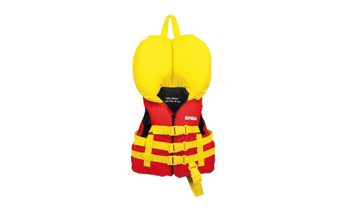 Airhead Infant Nylon PFD Vest - Red