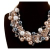 Exaggerate Handmade Multi Layer Weave Choker Necklace for Women