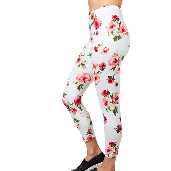 6fcf0607d4bbf Up To 54% Off on Women's Cropped Soft Leggings   Groupon Goods