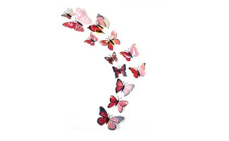 12Pc 3D Butterflies On The Wall Stickers Home Decor 6e5f93ce-4801-4f26-a973-1e53f5c9e63b