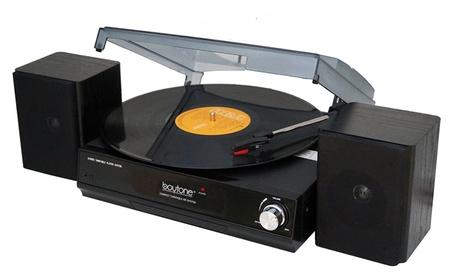 Boytone BT-14TBB-SP 3 Speed turntable, 2 Separate Speakers f0b98a05-216d-4919-9c82-3c203b306a88