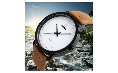 Fashion Mens Leather Luxury Watch 5dee895f-d931-4943-a985-aea29c3b0eaa