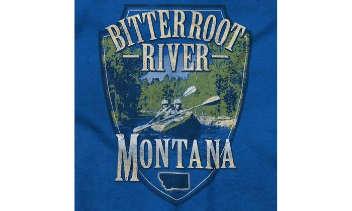 Bitterroot River Montana Kayak Fishing MT Romper Bodysuit
