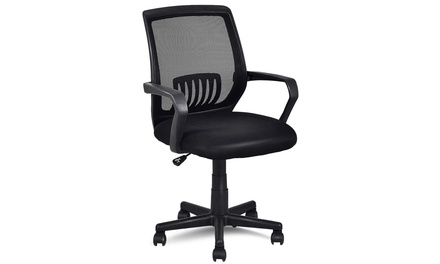 Ergonomic Mid-back Mesh Computer Office Chair Desk Task Task Swivel