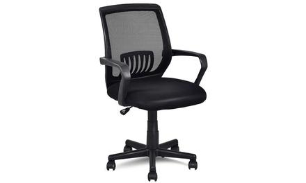 Ergonomic Mid-back Mesh Computer Office Chair Desk Task Task Swivel