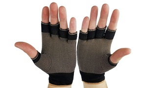 Pain Relief Arthritis Copper Compression Comfort Gloves Men And Women