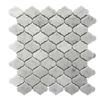 20 Sq Ft Etoile Mini Arabesque 12x12 Marble Mosaic Polished Backsplash