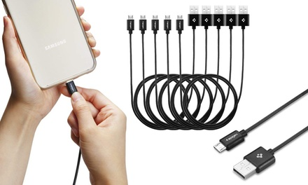 Spigen 3.3 Ft Micro USB High Speed Charge and Sync Cable (1/2/3/5 packs)
