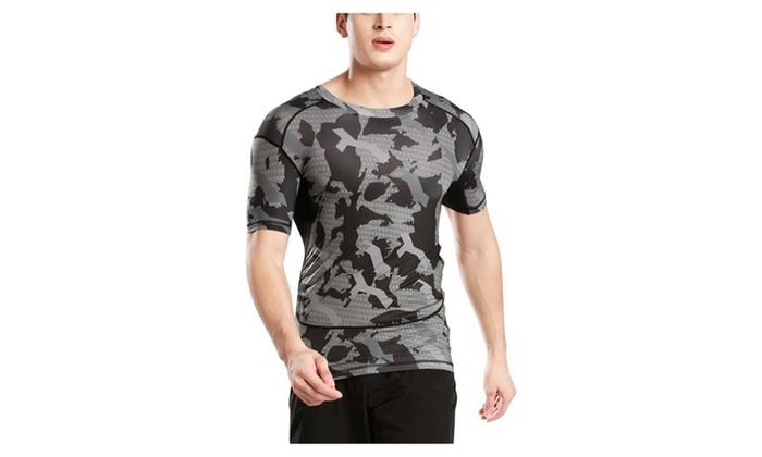 Men's Outdoor Sport Quick Dry Short Sleeves T-Shirt Tee