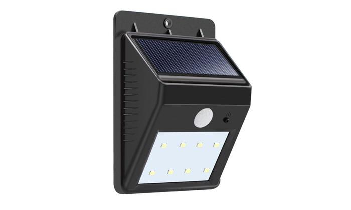 Solar Lights LED Waterproof Wireless Motion Sensor Security Wall Light