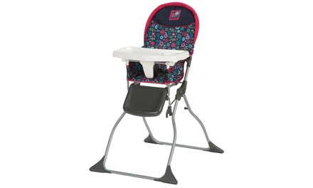 Cosco Simple Fold High Chair - Flower Garden
