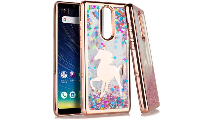 Bling Glitter Unicorn Hard Phone Case